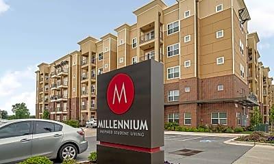 Community Signage, Millennium Apartments, 2