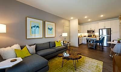 Living Room, Ravella at Sienna Apartments, 0