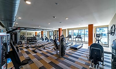 Fitness Weight Room, The Morrison, 2