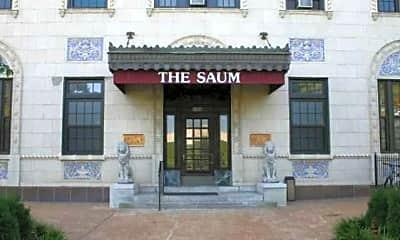 Building, The Saum, 2