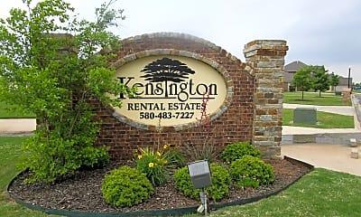 Community Signage, 1201 Kensington Ln, 2