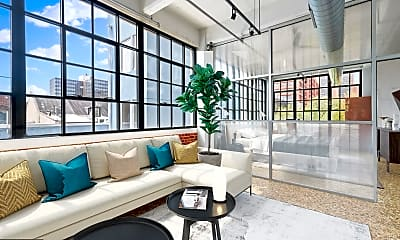 Living Room, 20 N 3rd St 301, 1