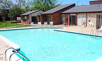 Pool, Cityside Townhomes, 1