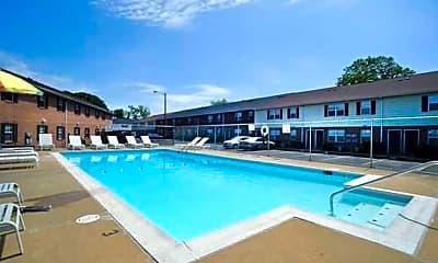 Pool, Olympic Village, 0