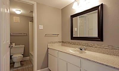 Bathroom, San Mateo Forest, 2