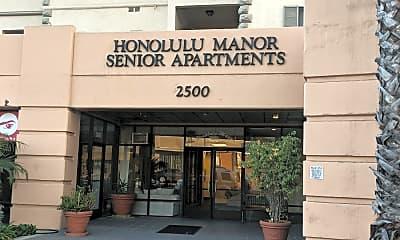 Honolulu Manor Senior Apartments, 1