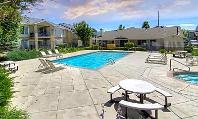 Pool, The Heritage at Draper Apartments, 1
