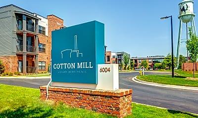 Community Signage, Cotton Mill, 2
