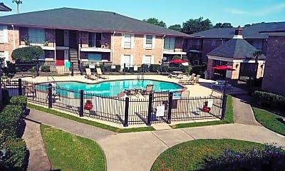 Pool, Savannah Apartments, 2