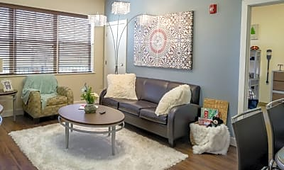 Living Room, Twin River Commons, 1