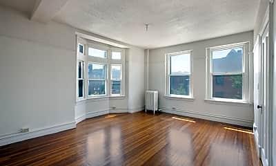 Living Room, Caldwell Apartments, 2