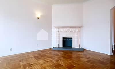 Living Room, 3501 Lawton St, Upper Unit, 1