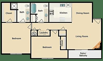Kitchen, 8755 N Chestnut Ave, 1