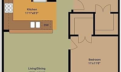Kitchen, 2002 Johanna Dr, 2