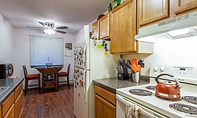Kitchen, Silver Bell Apartments, 1