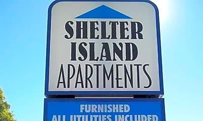 Community Signage, Shelter Island, 1