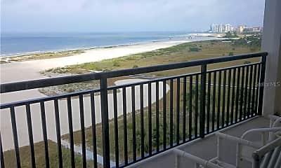 Patio / Deck, 1270 Gulf Blvd 802, 2