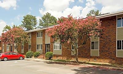 Building, North Oak Apartments, 0