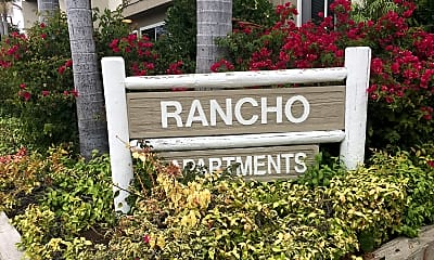 RANCHO APTS, 1