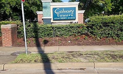 Calvary Towers Apartments, 1