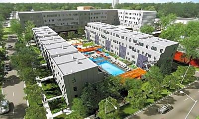 Building, West Quad Apts, 1