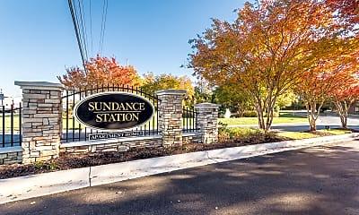 Community Signage, Sundance Station, 0