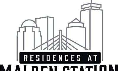 Residences at Malden Station Apartment Building, 1