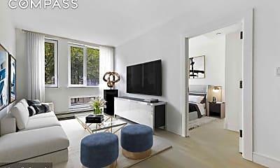 Living Room, 306 W 142nd St 5-F, 0