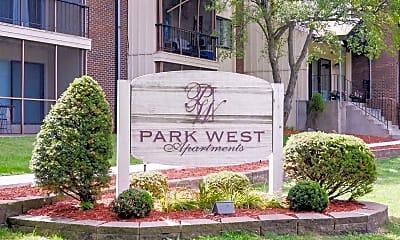 Community Signage, Park West Apartments, 2