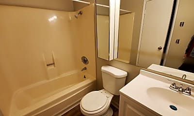 Bathroom, Courtview Square Apartments, 2