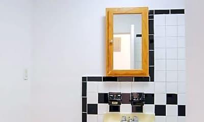 Bathroom, 405 W 54th St, 2