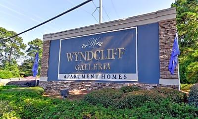 Community Signage, Wyndcliff Galleria, 2