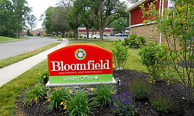 Community Signage, Bloomfield Apartments, 0