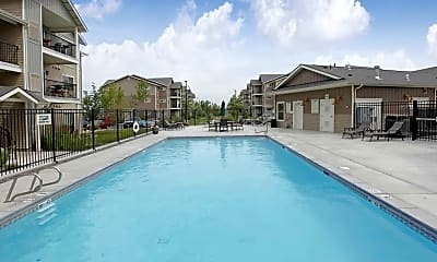 Pool, Island View Apartments, 1