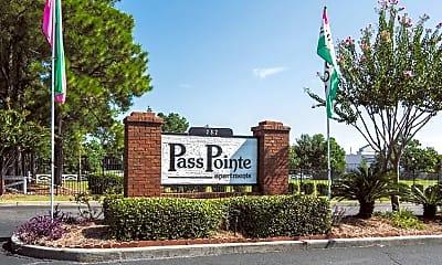 Community Signage, Pass Pointe Apts, 2