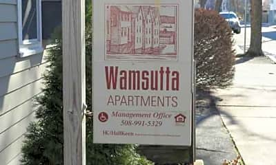 Wamsutta Apartments, 1