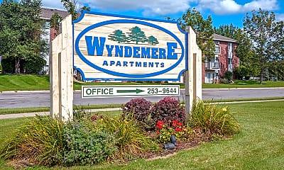 Community Signage, Wyndemere Apartments, 2