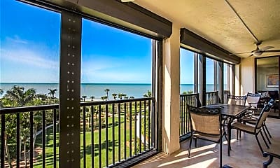 Patio / Deck, 10851 Gulf Shore Dr 402, 0