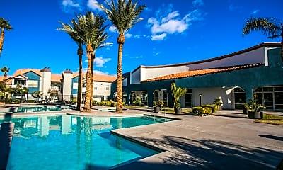 Pool, The Met Las Vegas, 1