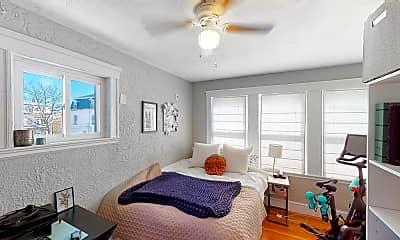 Bedroom, 9 Arlington Street, Unit 2, 1