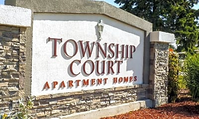 Community Signage, Township Court, 1