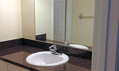Bathroom, Highview Apartments, 2