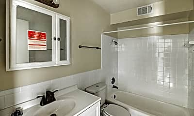 Bathroom, The Seven Two Apartments, 2