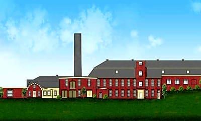 Building, Star Mill Lofts, 1