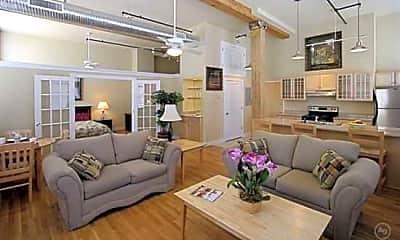Living Room, South Street Lofts, 0
