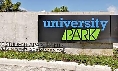 Community Signage, University Park, 2
