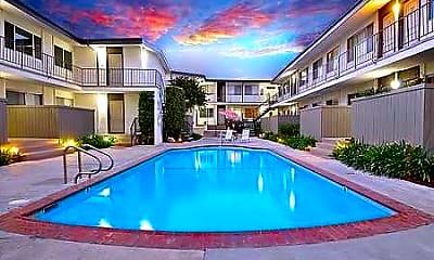 Pool, San Remo Apartments, 0