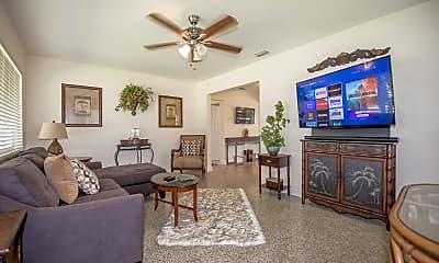 Living Room, 1331 North N Street, 1