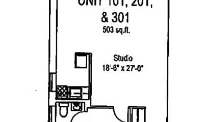 Bathroom, 5424 Fifth Ave, 2