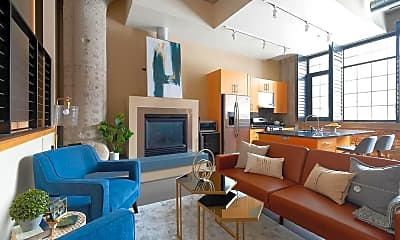 Living Room, 525 N 3rd St 104, 1